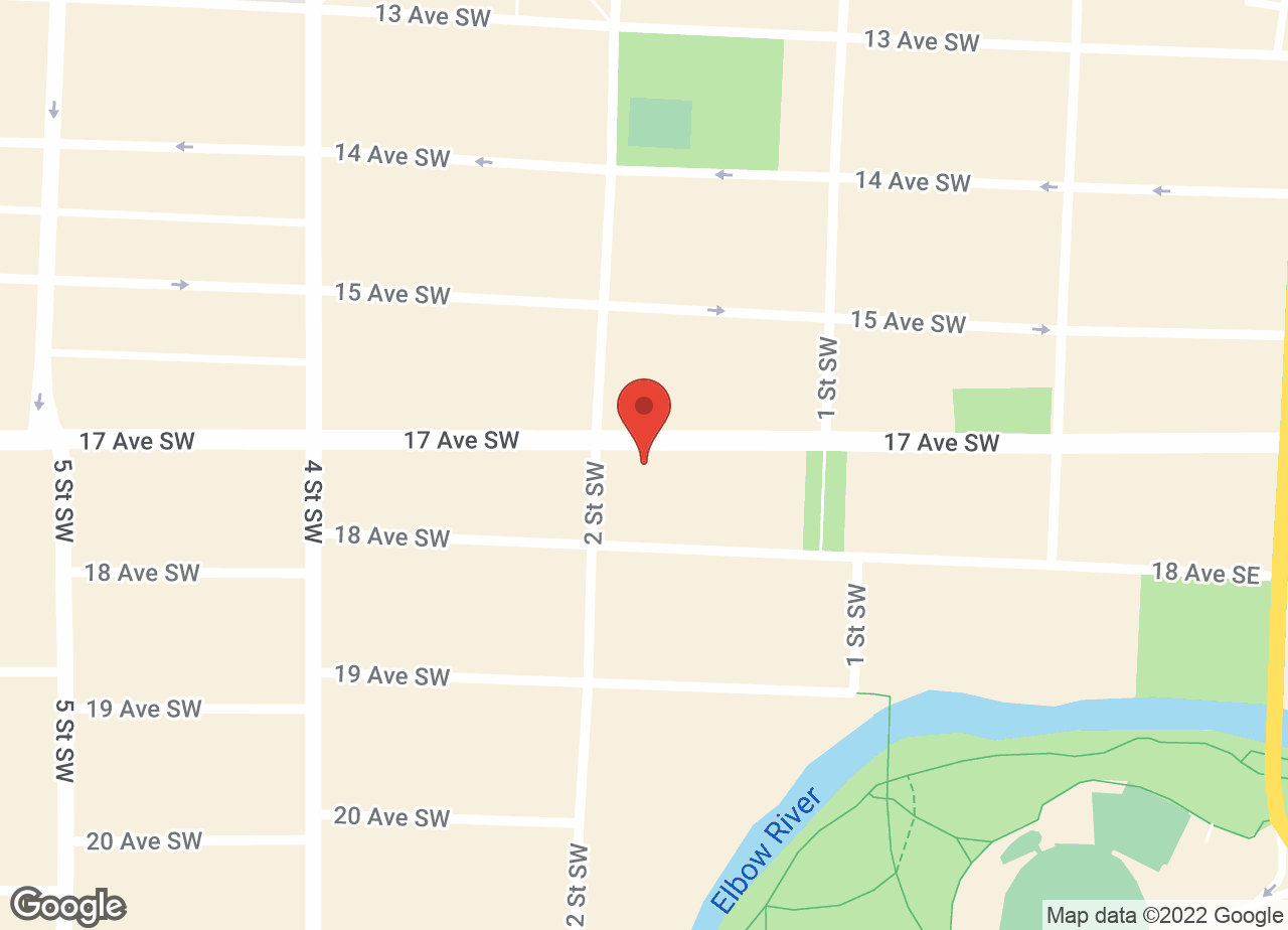 Google Map of 17th Avenue Animal Hospital