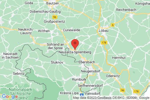 Karte Neusalza-Spremberg
