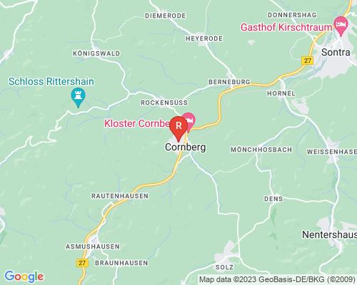 Google Karte von Rohrreinigung Cornberg
