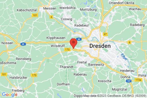 Karte Dresden Gompitz, Zöllmen
