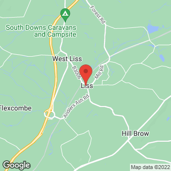 Map of The Co-operative Funeralcare at 3 Lower Mead, Liss, Hampshire GU33 7RL
