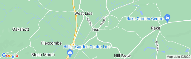 Map Of Liss