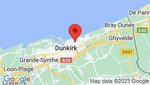 Carte de localisation du centre de contrôle technique DUNKERQUE