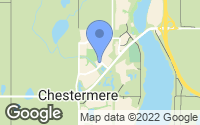 Map of Chestermere, AB