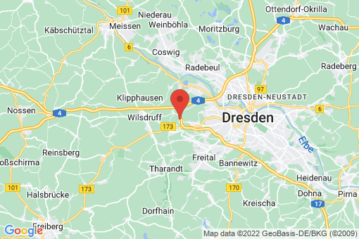Karte Dresden Gompitz, Steinbach