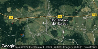 Google Map of Sohland an der Spree