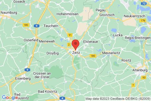 Karte Zeitz