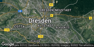 Google Map of Dresden