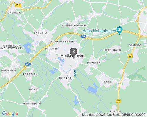 Google Karte von Schlüsseldienst Hückelhoven