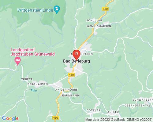 Google Karte von Rohrreinigung Bad Berleburg