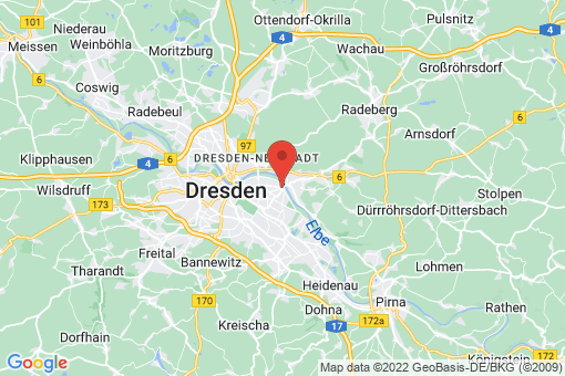 Karte Dresden Blasewitz