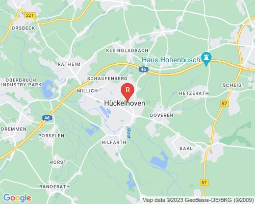Google Karte von Rohrreinigung Hückelhoven