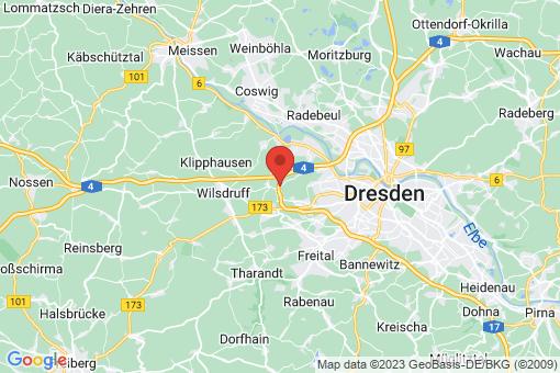 Karte Dresden Gompitz, Roitzsch