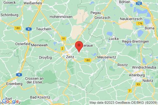 Karte Tröglitz