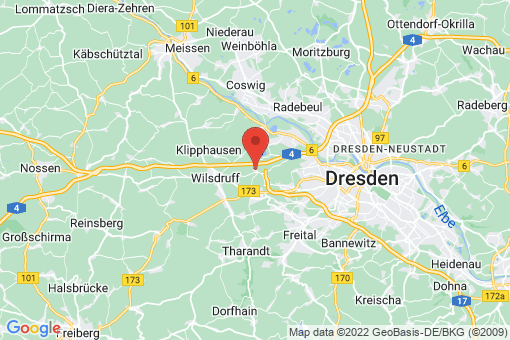 Karte Dresden Gompitz, Unkersdorf
