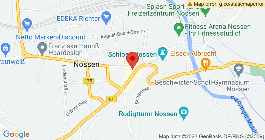 Google Map Sporthaus Haubold Nossen
