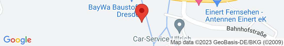 BayWa Baustoffe Dresden-Weissig Anfahrt