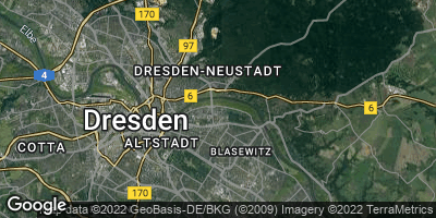 Google Map of Blasewitz