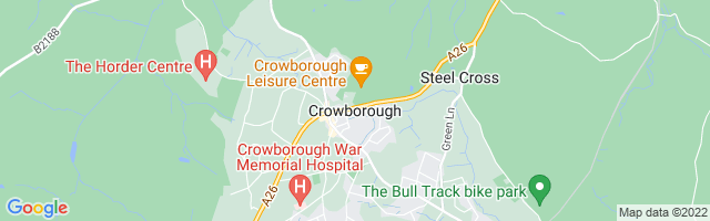 Map Of Crowborough
