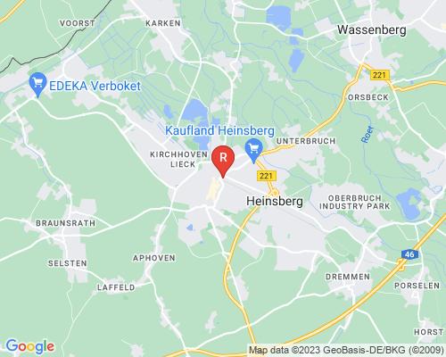 Google Karte von Rohrreinigung Heinsberg