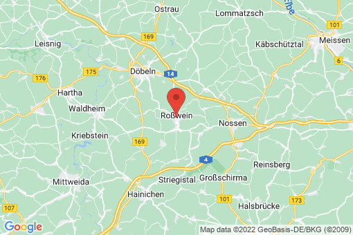 Karte Roßwein
