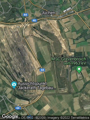 Google Map of Garzweiler