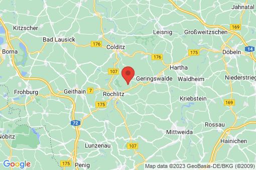 Karte Zettlitz
