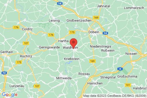 Karte Waldheim
