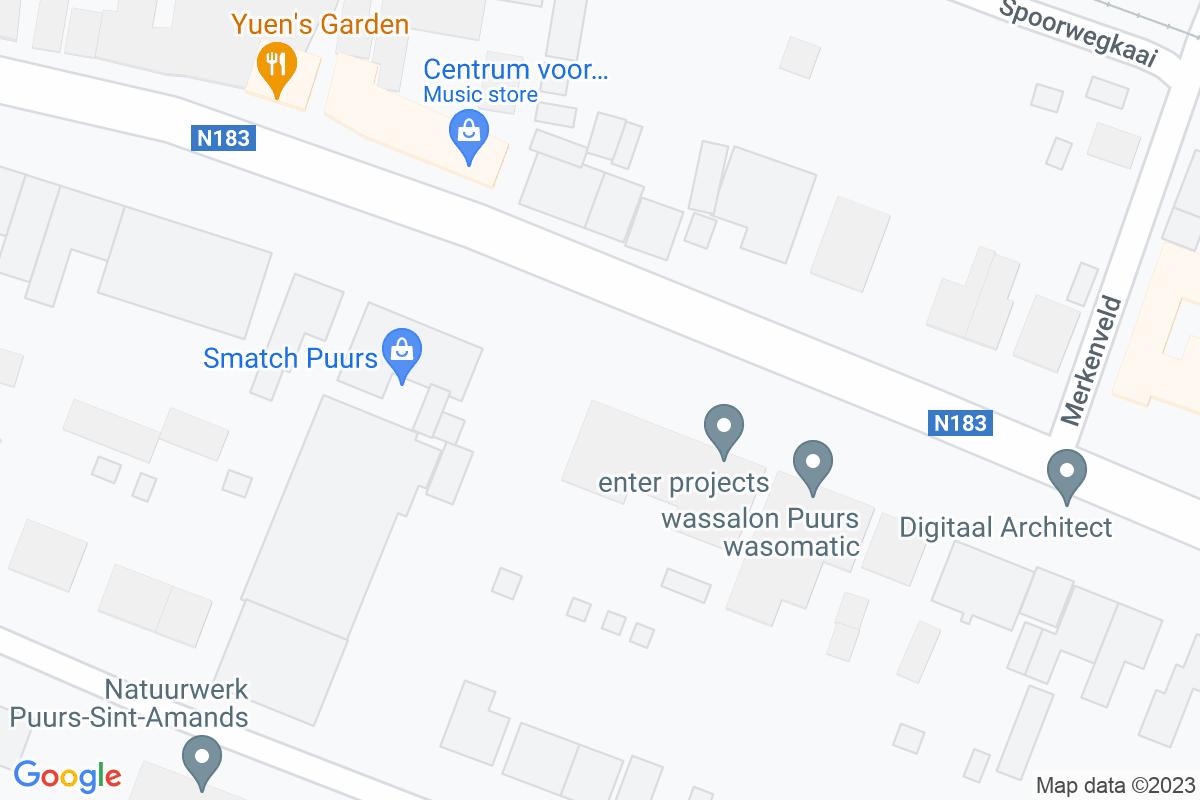 situation du Smatch Puurs