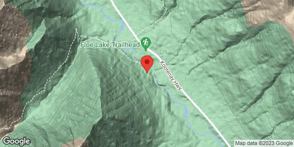 Floe Lake Trailhead