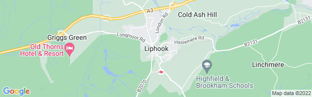 Map Of Liphook