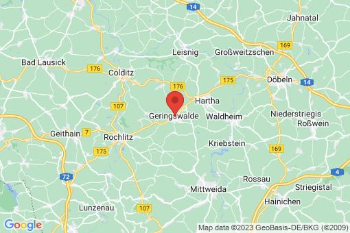 Karte Geringswalde