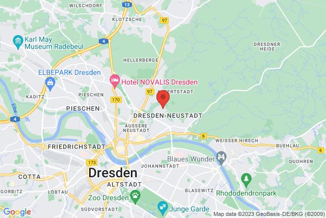 Bildungswerk des Landessportbundes Sachsen e.V. Map