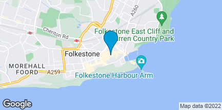 Map of 29/33 Sandgate Road in Folkestone