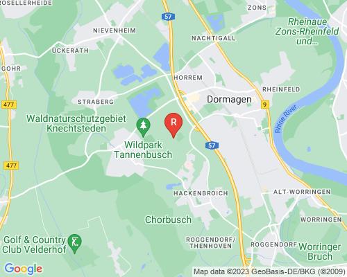 Google Karte von Rohrreinigung Dormagen
