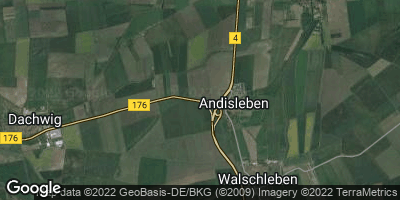 Google Map of Andisleben