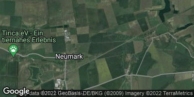 Google Map of Neumark bei Weimar