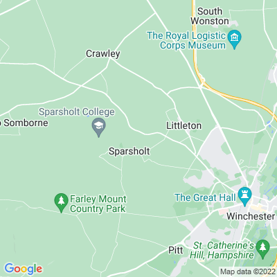 Sparsholt Manor Location