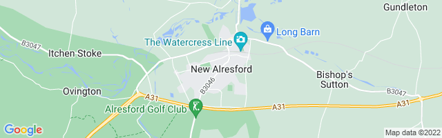 Map Of Alresford