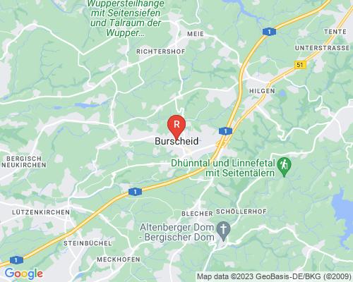 Google Karte von Rohrreinigung Burscheid