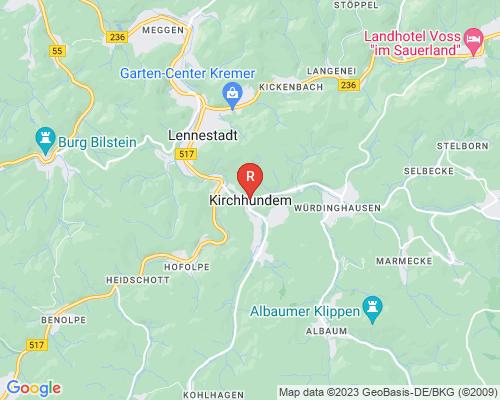 Google Karte von Rohrreinigung Kirchhundem