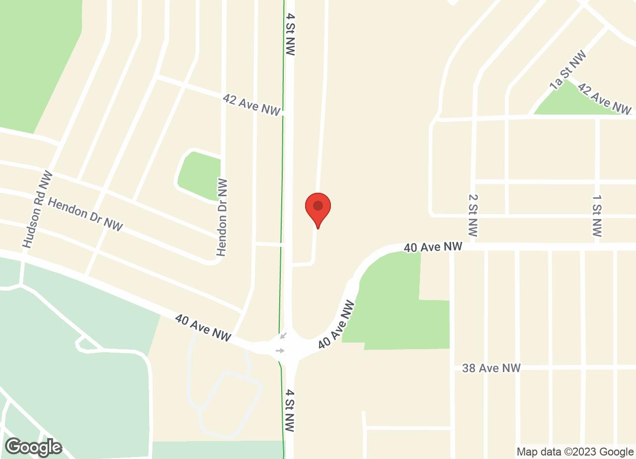 Google Map of Calgary North Animal Hospital