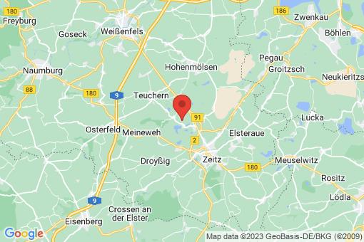 Karte Luckenau