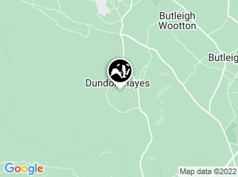 A static map of Dundon Beacon