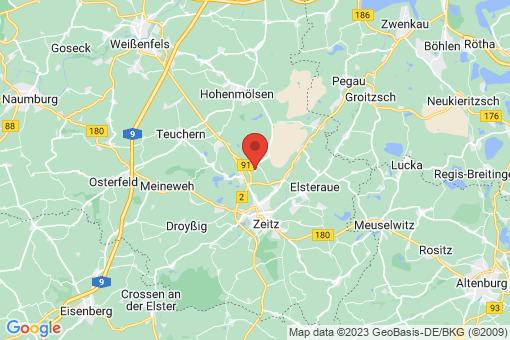 Karte Nonnewitz