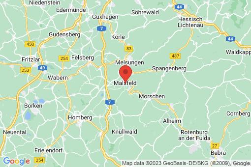 Karte Malsfeld