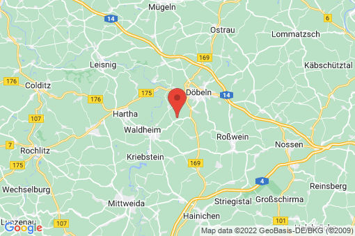 Karte Ziegra-Knobelsdorf