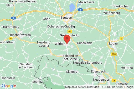 Karte Kirschau