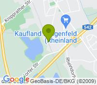 Google Map of hanielstraße 8 dinslaken