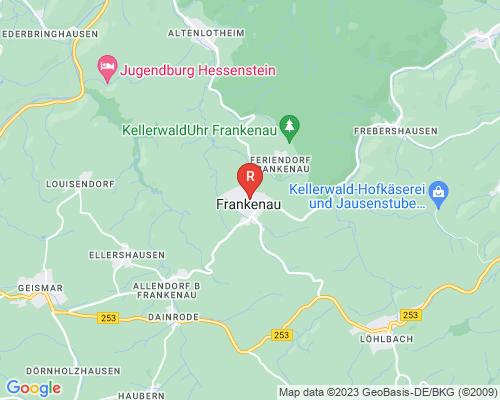 Google Karte von Rohrreinigung Frankenau